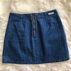 Brandy Melville Zip Closure Skirt